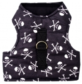 Cat Walking Jacket Katzengeschirr Totenkopf PIRATE SKULL